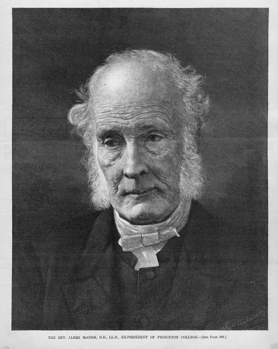 "JAMES McCOSH EX-PRESIDENT OF PRINCETON COLLEGE"", published in ""Harper's Weekly"" April 1891. This dated engraving from the year of 1891 is 11 x 12 inches ... - HW1891P257423"
