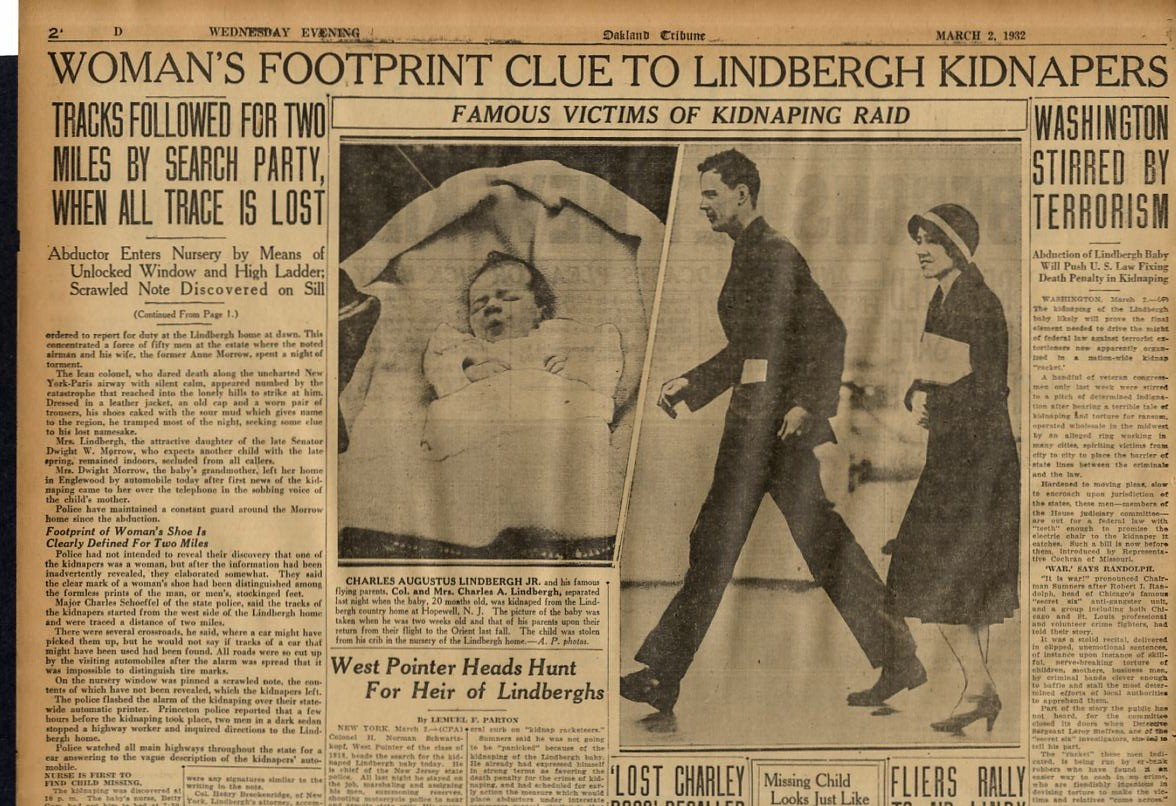 charles lindbergh research paper View essay - lindbergh kidnapping research paper the trial of bruno richard hauptmann in 1935 and the lindbergh k from cj 101 at kaplan university lindbergh kidnapping research paper the trial of.