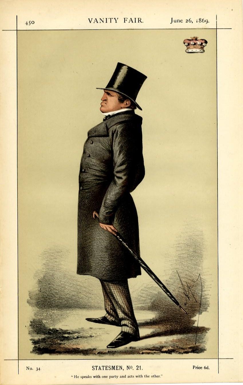 British Statesman Lord Stanley Vintage Vanity Fair Caricature Carlo Pellegrini Ebay