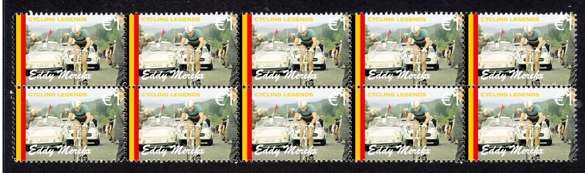 EDDY-MERCKX-CYCLING-LEGEND-STRIP-OF-10-MINT-STAMPS-4