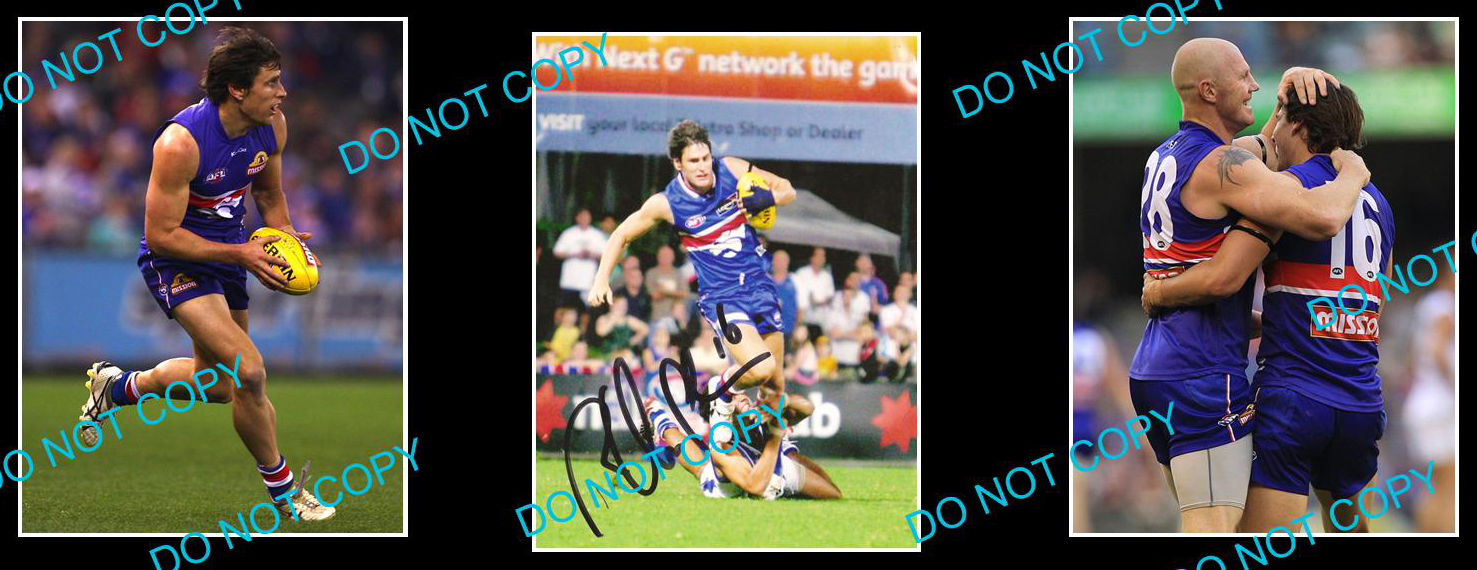 RYAN-GRIFFEN-WESTERN-BULLDOGS-CHAMPION-SIGNED-PHOTO-2-PHOTOS
