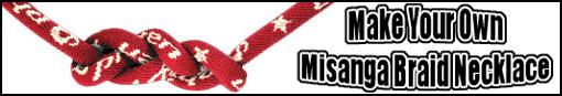 Make your own Phiten Misanga Necklace