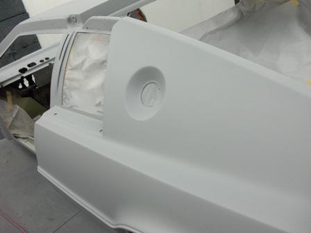 S1 Lotus Esprit Restoration S1 Esprit In Primer And Ready